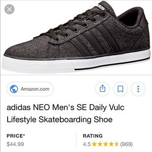 Zapatillas adidas neo se Daily Vulc Skate zapatilla poshmark